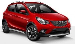 Xe ô tô VinFast Fadil màu Đỏ