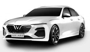 Xe ô tô VinFast Lux A2.0 màu trắng