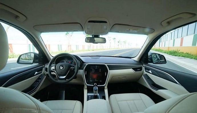Nội thất của xe VinFast Lux A2.0