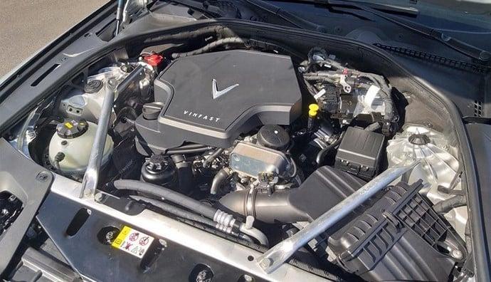 Công nghệ động cơ của VinFast Lux A2.0