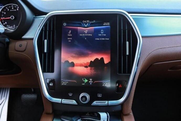 Phương tiện tiện tích trên xe VinFast Lux SA2.0