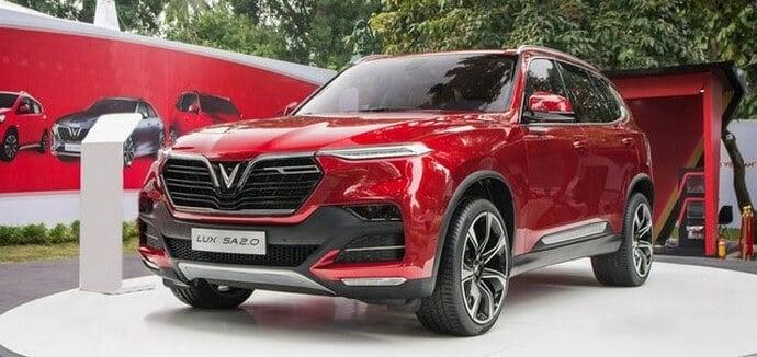 Đánh giá ngoại thất xe VinFast Lux SA2.0