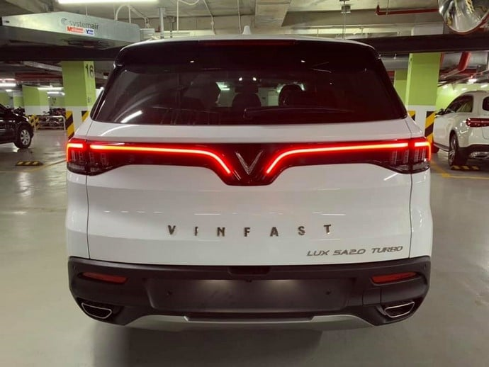 Cận Cảnh Chiếc SUV - VinFast Lux SA2.0