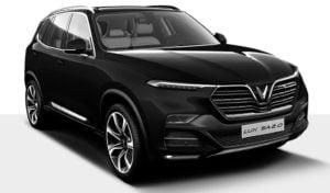 Xe ô tô VinFast Lux SA2.0 màu đen