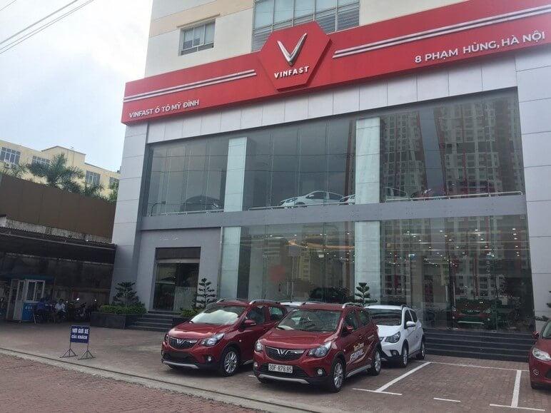 Đại Lý Xe Ô Tô VinFast Tại Hà Nội