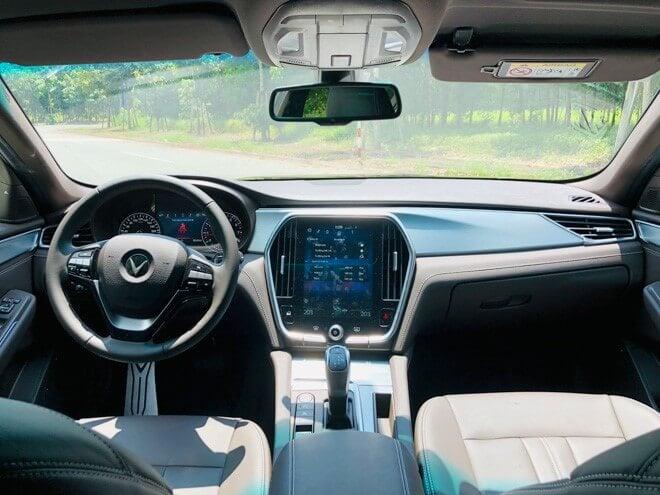 Trải Nghiệm Nội Thất Bộ Đôi Ô Tô VinFast Lux