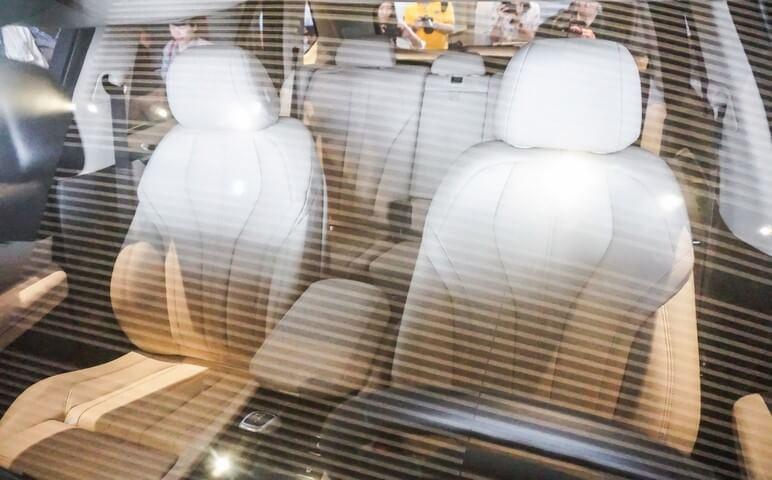 Phần nội thất bên trong của VinFast Lux V8
