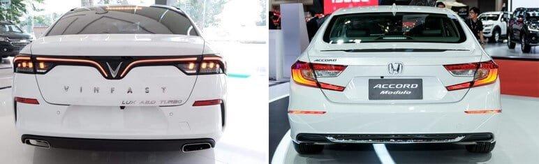 Chọn VinFast Lux A2.0 và Honda Accord 2020