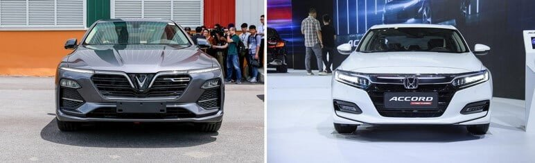 Chọn VinFast Lux A2.0 Hay Honda Accord 2020
