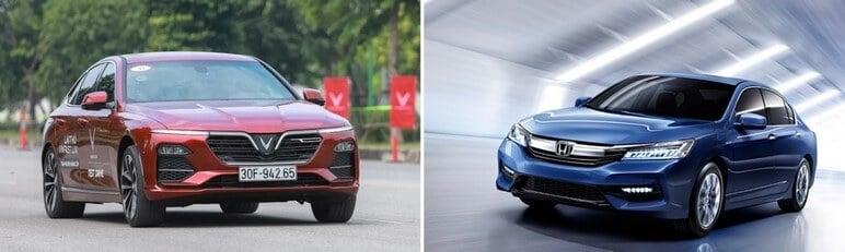 Chọn Mua VinFast Lux A2.0 Hay Mua Honda Accord 2020