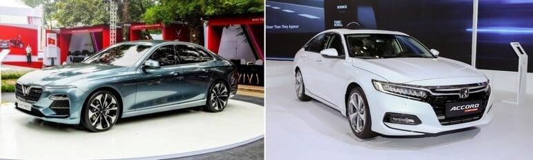 VinFast Lux A2.0 Hay Honda Accord 2020