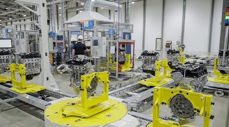 Nhà Máy Lắp Ráp Động Cơ Ô Tô VinFast