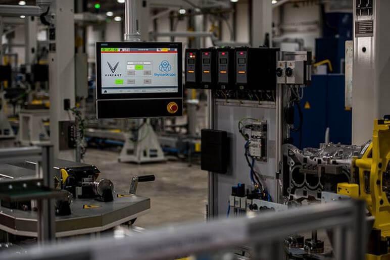 Tìm Hiểu Xưởng Lắp Ráp Động Cơ Ô Tô VinFast