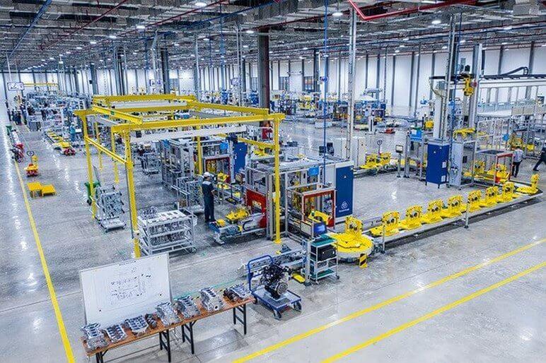 Xưởng Sản Xuất Động Cơ Ô Tô VinFast