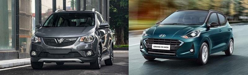 Trang bị an toàn của ô tô VinFast Fadil và Grand i10