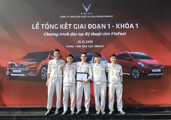 VinFast hợp tác cùng với các trường cao đẳng đào tạo kỹ thuật ô tô 1