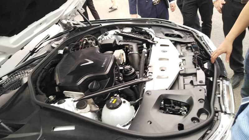 Động cơ vận hành của xe Vinfast Lux SA2.0