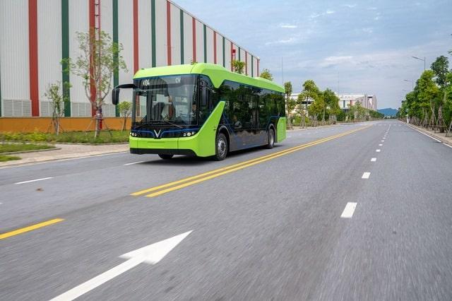 Dòng xe ô tô Bus điện mới