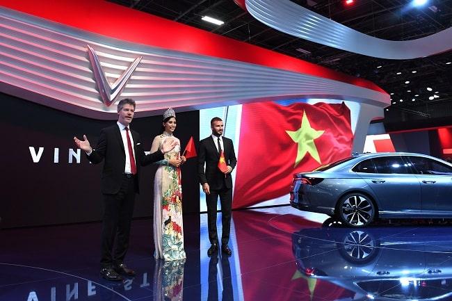 VinFast có mặt tại Paris Motor Show