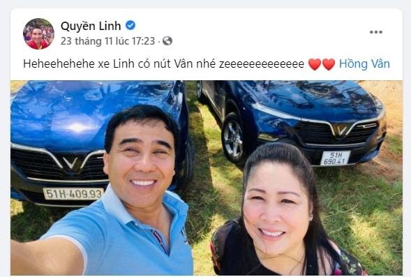 Hình ảnh diễn viên Lê Hồng Đăng mua chiếc SUV của VinFast 9