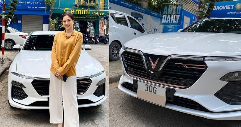 Hình ảnh diễn viên Lê Hồng Đăng mua chiếc SUV của VinFast 11