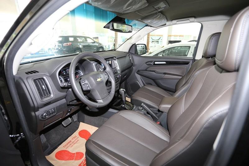 Đánh giá xe ô tô Chevrolet Trailblazer 2019 phần nội thất