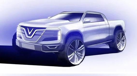 Xe bán tải VinFast được tiết lộ thông tin