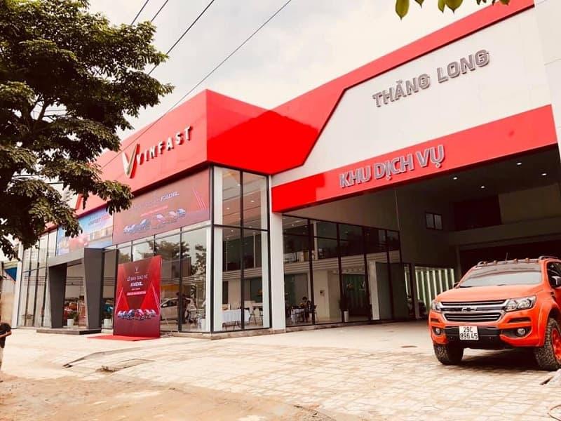 Đại lý VinFast Thăng Long   Showroom chính hãng tại Hà Nội