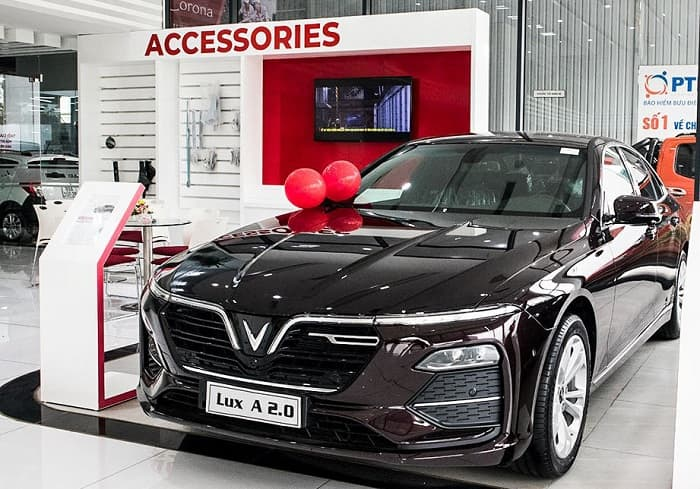 Ô tô 5 chỗ của VinFast