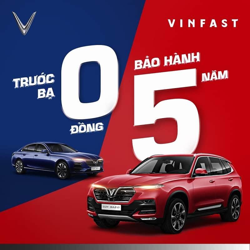 Sở hữu VinFast Lux – Đón xe sang chào xuân mới