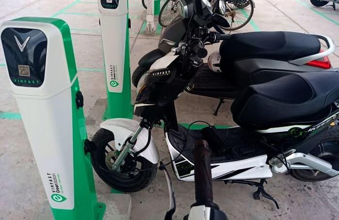 VinFast xây dựng trạm sạc cho xe ô tô điện ở Hà Nội 3