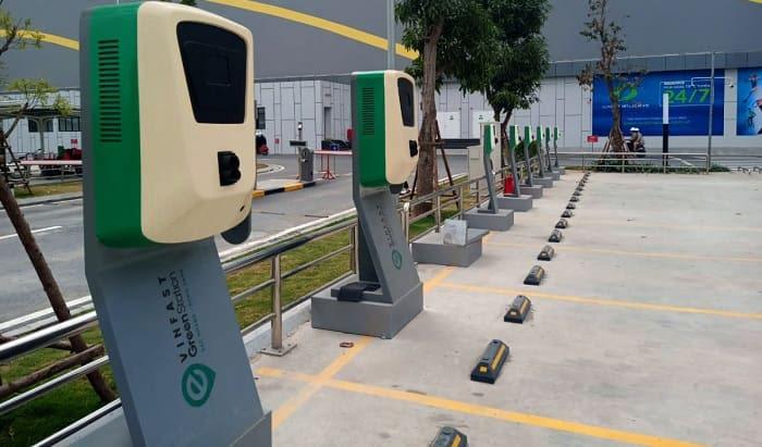 Trạm sạc điện cho xe ô tô