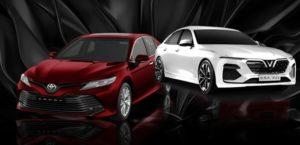 Xe sedan VinFast Lux vượt mặt Toyota Camry như thế nào trong năm 2020