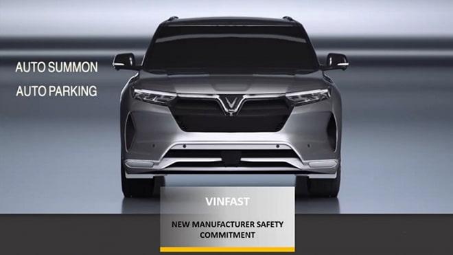 VinFast đoạt giải cao về chứng nhận an toàn đầu năm 2021