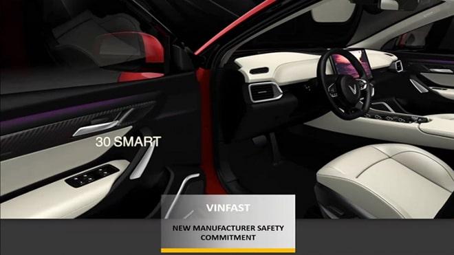 VinFast nhận giải thưởng hãng xe mới có cam kết cao về độ an toàn