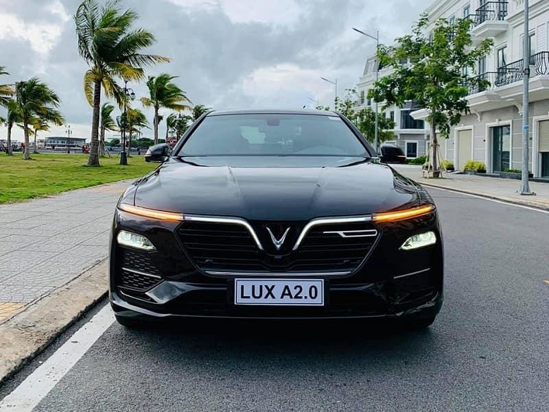 Bảng giá option của VinFast Lux A2.0 nâng cao