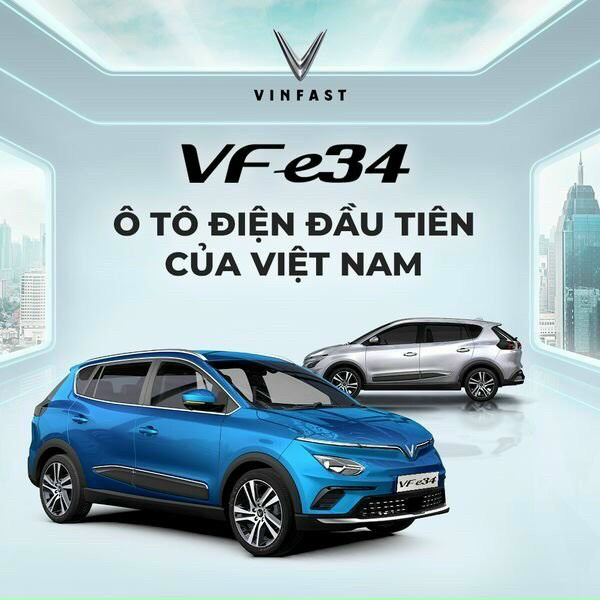 Chiếc xe ô tô điện của VinFast – kỷ nguyên mới