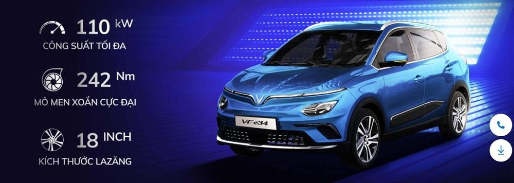 Ô tô điện VinFast VF e34 – Giá chỉ từ 590 triệu đồng 4