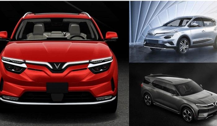 Những mẫu xe ô tô điện của VinFast