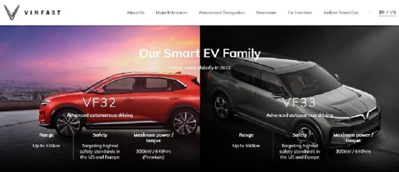 Thông tin về hãng xe ô tô VinFast