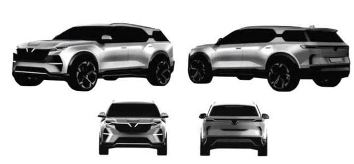 Hé lộ mẫu SUV mới của VinFast với 2 bản điện và xăng