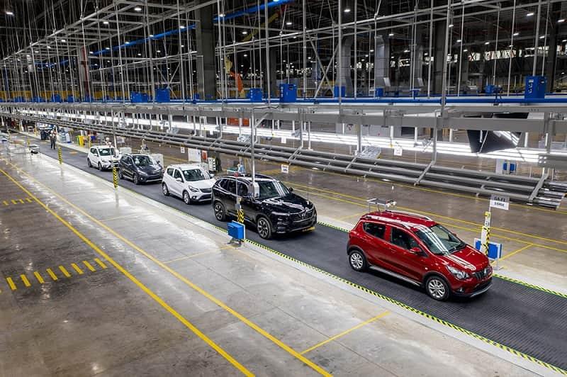 Nhà máy sản xuất VinFast ở Hải Phòng hiện tại