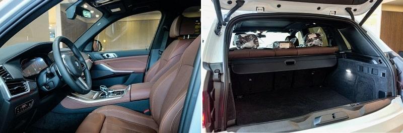 Bên trong xe BMW X5 M