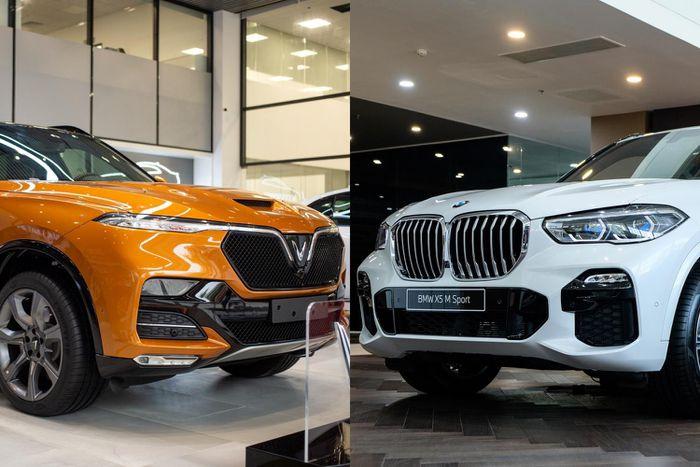 So sánh SUV VinFast President và BMW X5 M Sport