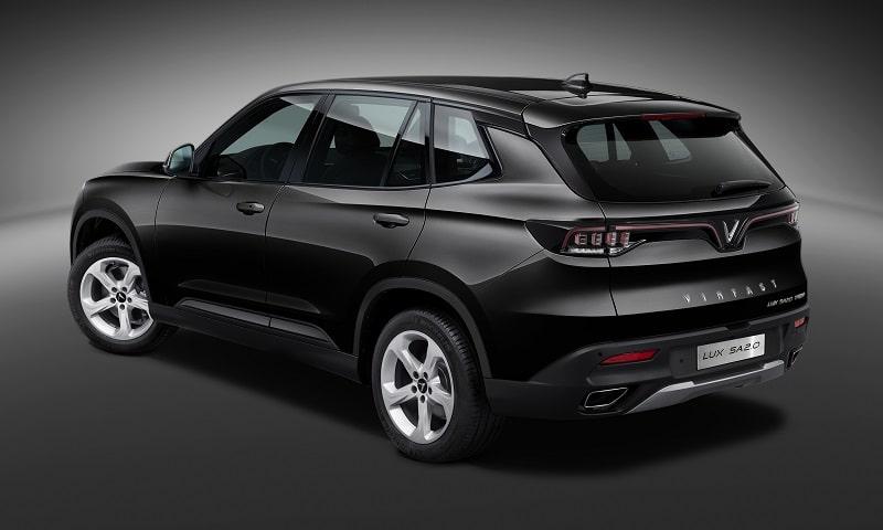 Thiết kế ngoại thất của VinFast Lux SA 2.0 đi đầu xu hướng xe SUV hạng sang