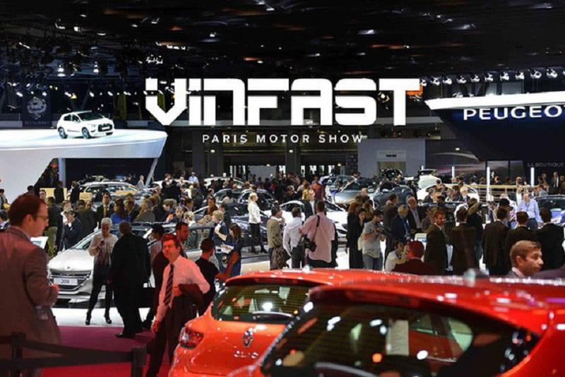 Xe VinFast tại triển lãm Paris