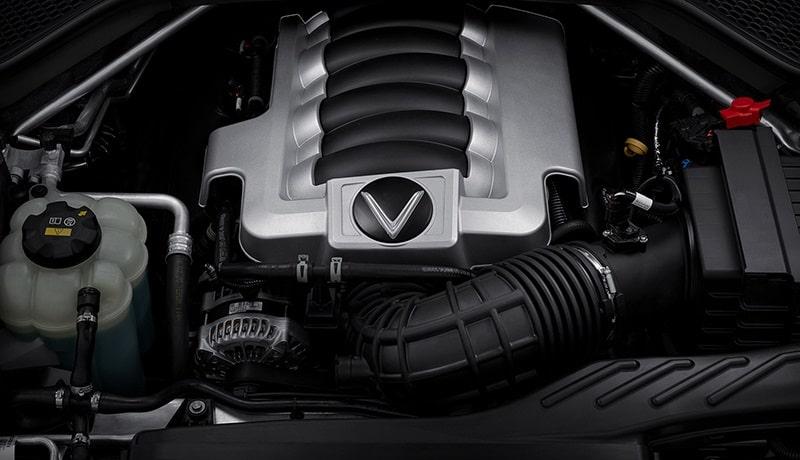 Động cơ V8 của VinFast President