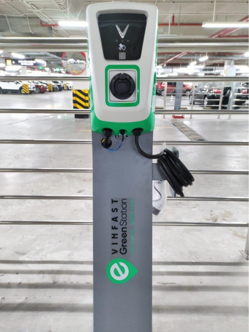 hệ thống trạm sạc VinFast