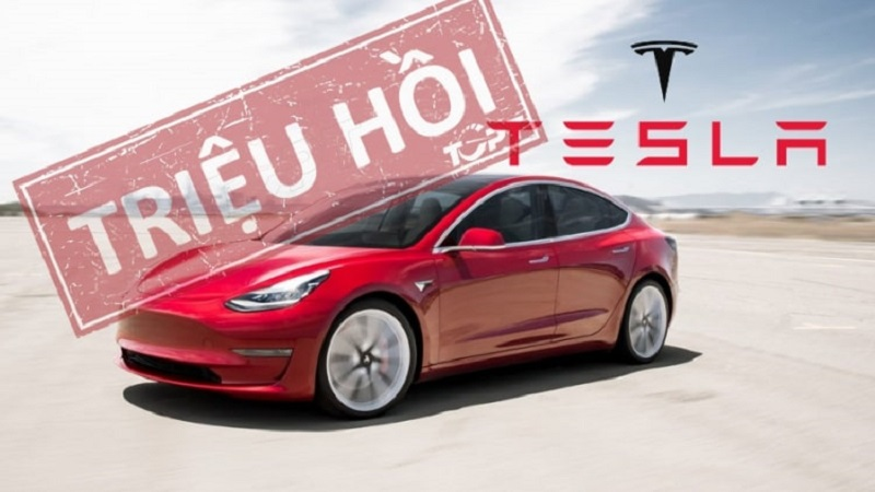 Lỗi trên xe Tesla tại Trung Quốc