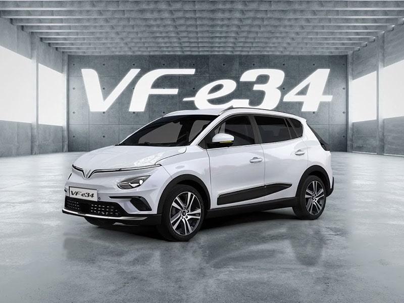 Đặt mua VinFast VF e34 theo hình thức online